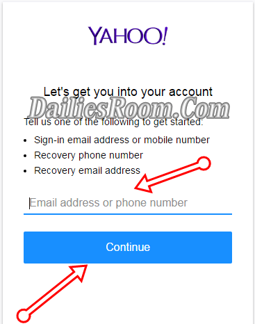 How to Retrieve Lost Yahoo Email Address and Password with Phone Number
