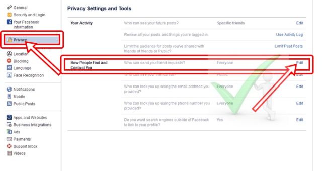 How to Add Facebook Friend Request Button for Everyone on FB Timeline