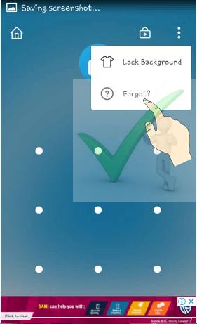 Ways to unlock apps from AppLock