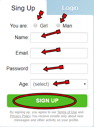 How To Create New Chatblink Account | New Account for Free Chat