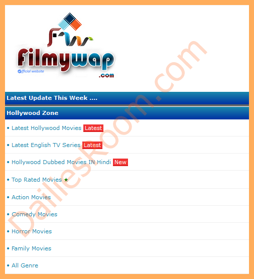 Download Latest Filmywap Hollywood Movies & Bollywood 2019