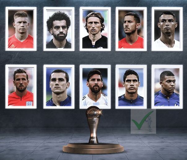 The Best Men's FIFA Player of the Year 2018 Nominees - Messi, Mbappe, Ronaldo