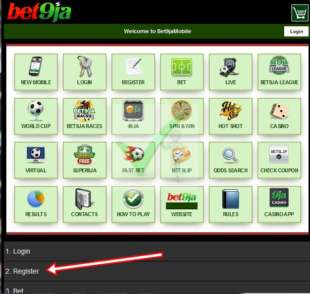 Old Bet9ja App Mobile