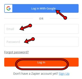 www.zapier.com Review: Zapier Account Sign Up | Zapier Registration