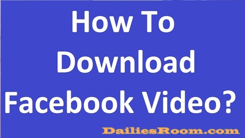 How To Download Facebook Videos Via FBDown | Facebook Video Downloader
