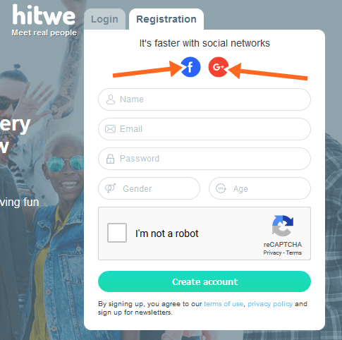 Hitwe Login With Facebook Account | Hitwe Signup FB | Hitwe Registration