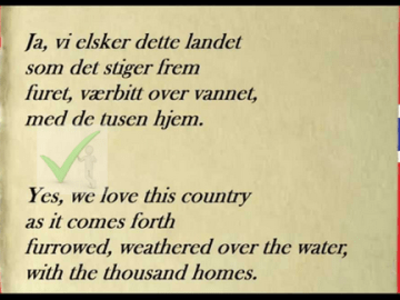 Norway National Anthem In English (The National Anthem of Norway)