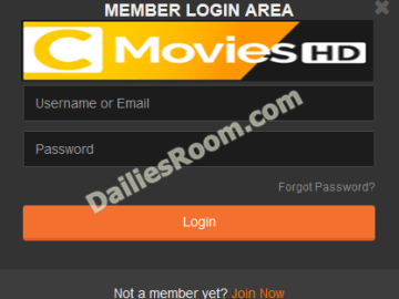 How To Login CmoviesHD Account To Watch Movies Online