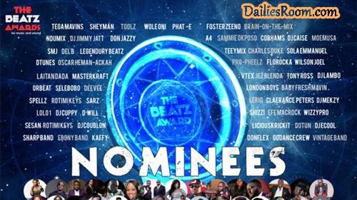 The Beatz Awards 2018 Nominees List: Tekno, Simi, Davido