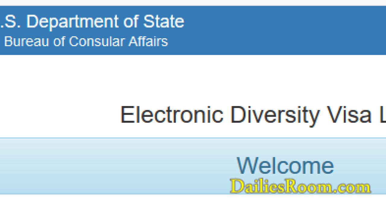Entrant Status Check >> Dv Lottery Result 2019 Entrant Status Check Online Check