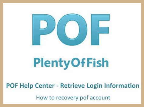 How To Recover PlentyOfFish Dating Account Password & Username Fast