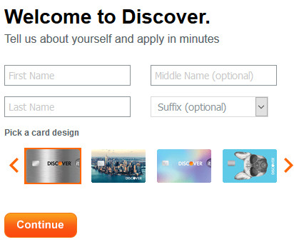 www.discover.com Credit Cards Login - Discover Credit Card Application