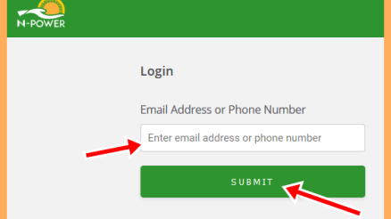 N-Power Registration Recruitment Portal, Apply.npower.gov.ng Login