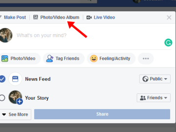 How To Upload photos & videos on Facebook Account/Profile Fast