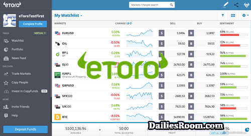 Steps To eToro Registration For Trading & Investing In Cryptocurrencies