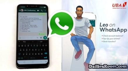 LEO WhatsApp Number For UBA Group Whatsapp Chat
