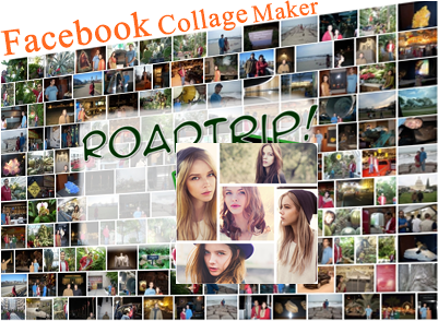 Simple Photo Facebook Collage Maker Online