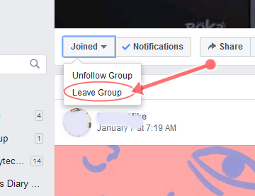 How To Leave Facebook Group Chat Without Notification