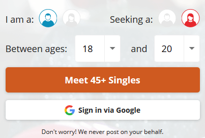 www.datemyage.com Review: DateMyAge Registration For Mature Singles