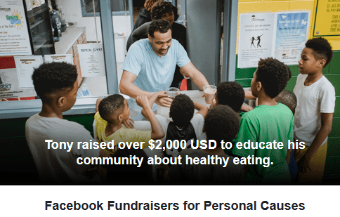 Create A Facebook Birthday Fundraiser - Start A Fundraiser on Facebook
