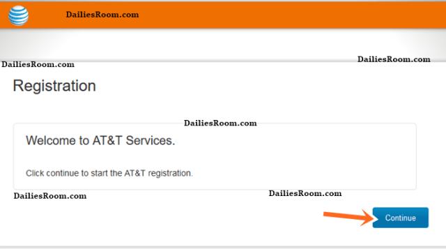 AT&T Online Registration Account With AT&T Login on lsreg.att.net