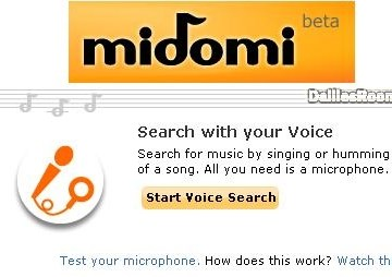Midomi.com Singing Search: Midomi Registration To Search Music Online