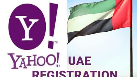 United Arab Emirates Yahoo Sign Up | UAE Email Account Registration