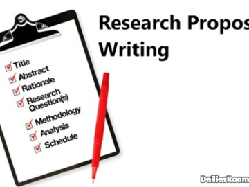 Simple Guide On Writing A Good Research Proposal