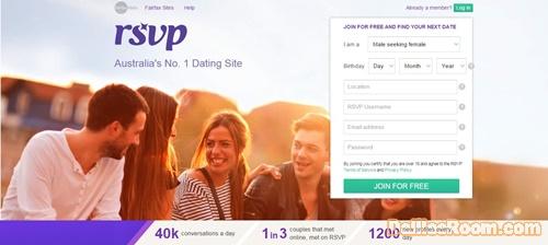 rsvp online datování uk