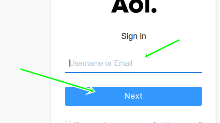 AOL.com Mail Login Sign In Steps