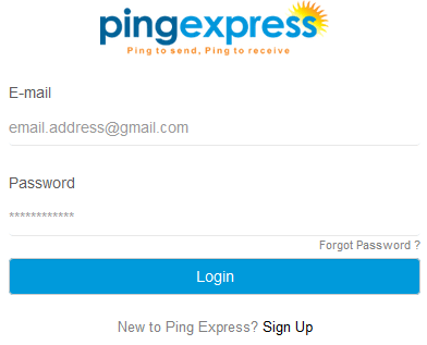 How To Create Ping Express Account For Instant Money Transfer