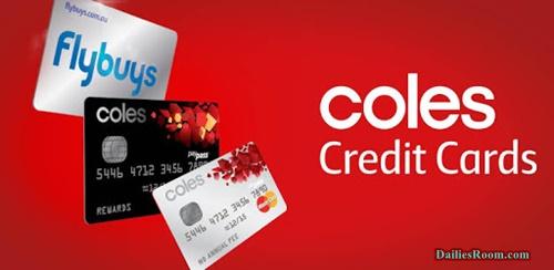 Coles Financial Service Cards | Coles Credit Card Benefits & Application