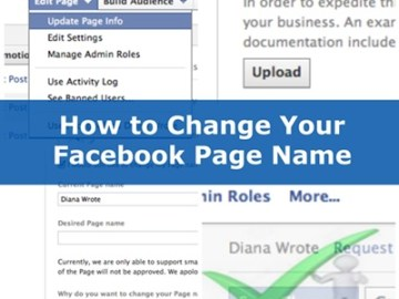 How To Change Facebook Page Name For Your Business