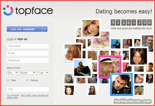 Topface.com Dating Site Sign Up | Topface Dating Sign in & App Download