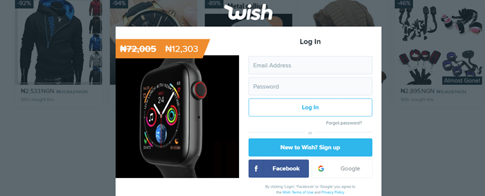 Wish Shopping Official Site For USA, Canada, China, UK, Wish.com Online Site