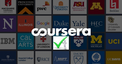 Steps To Coursera Login With Facebook, Email Address & Password