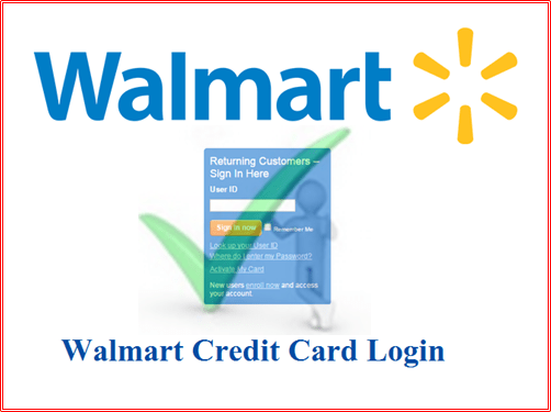 www.walmart.com Credit Card Sign In - Walmart Card Login
