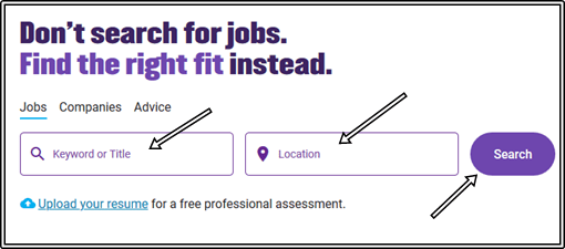 www.monster.com Sign Up For Monster Jobs Advanced Search