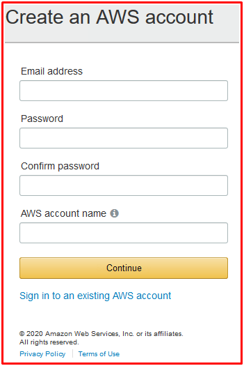 aws.amazon.com Login Portal | AWS Sign In Account With Email Address