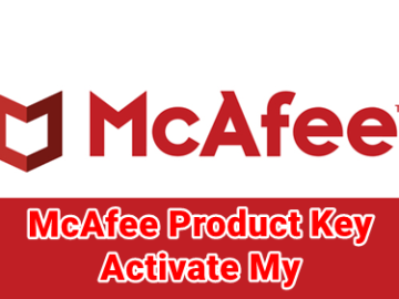 mcafee.com/activate Product Key Code - Activate My McAfee Product Key