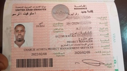 DUBAI VISA Agents In Nigeria