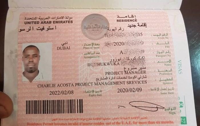 DUBAI VISA Agents In Nigeria