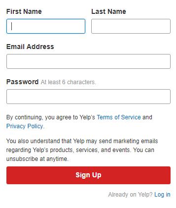 www.biz.yelp.com Login - Yelp Sign In Business Account
