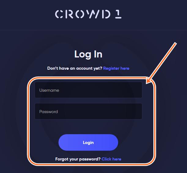www.Crowd1.com Login