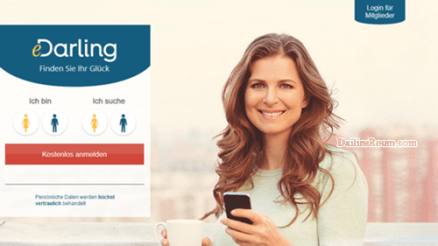 eDarling Dating Sign Up   www.edarling.de Singles Register - eDarling App