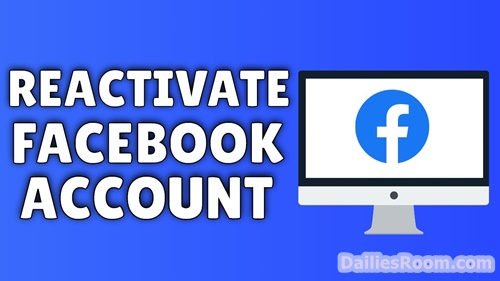 How To Reactivate Facebook Account | FB Account Reactivation