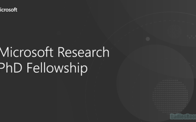 Microsoft Research PhD Fellowship Application For Students