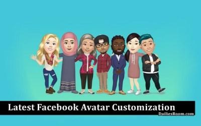 Latest Facebook Avatar Customization: FB Avatar Creator – Facebook Avatar Update