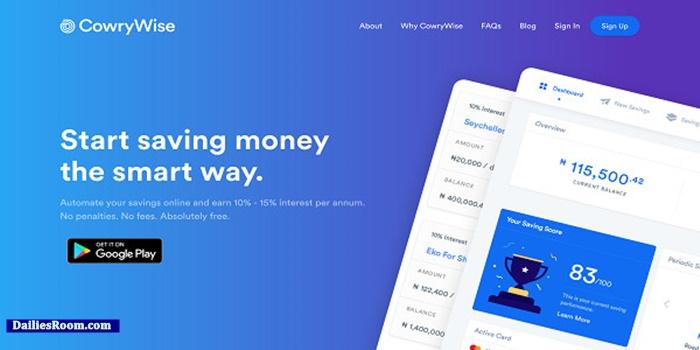 Cowrywise Sign Up: Create Cowrywise Savings Account – Cowrywise Register | Cowrywise Download