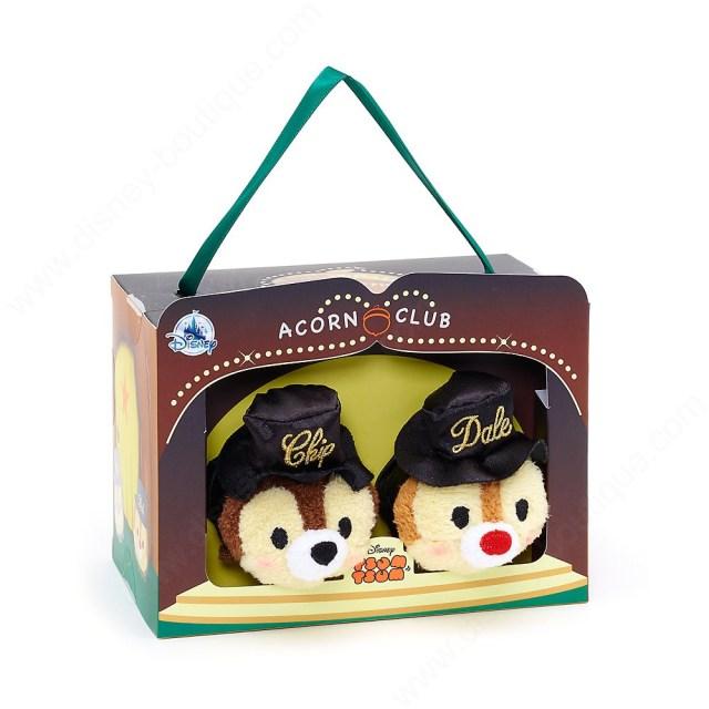 Disney Ensemble De Mini Peluches Tsum Tsum Tic Et Tac, 28E Anniversaire